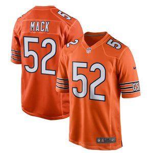 NEW NFL Men's 52# Khalil Mack Nike jersey